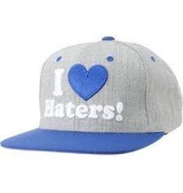 Skate DGK Haters Snapback Heather/RoyalBlue