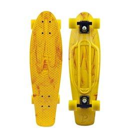 Skate Penny Skateboard Nickel Marble Yellow Orange Complete
