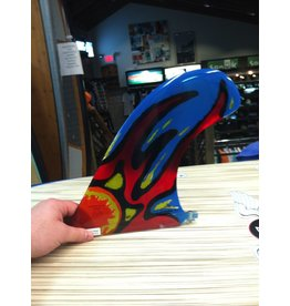 "RDI RFC Rainbow Longboard Fin GS Nose G. Spencer Sun 9.5"" Stained Glass"