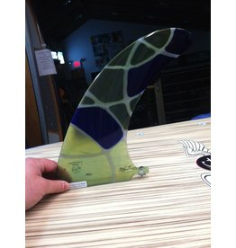 "RDI RFC Rainbow Longboard Fin Azul Multi 10"" Stained Glass"