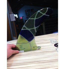 "RDI RFC Rainbow Longboard Fin Azul Multi 10"" Stained Glass"