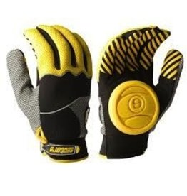 Skate Sector 9 Apex Glove Yellow SMD Skateboarding