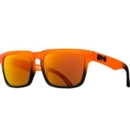 Spy Optic Helm Fade To Black Orange Crush Spectra