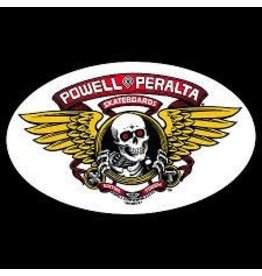 Skate Powell Winged Ripper Oval Decal
