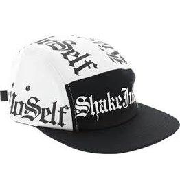 Skate Shake Junt Kill Yourself 5 Panel Hat Black/White Adj.