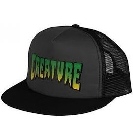 NHS Creature Logo Trucker Mesh Hat Grey/Black OS Mens