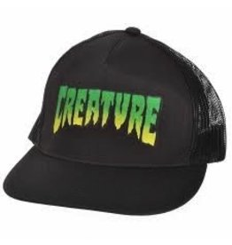 NHS Creature Logo Trucker Mesh Hat Black OS Mens