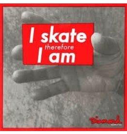 Skate Diamond I Am Decal