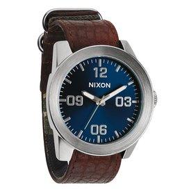 Nixon Nixon Corporal Brown Blue Sunray Watch