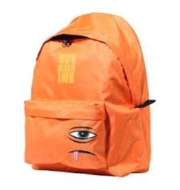 Skate Toy Machine Sect Face Backpack Orange