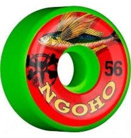 Skate Bones Ngoho Fish 56mm SPF Wheel Set Green