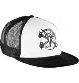 Skate Bones Circle Rat Trucker Hat