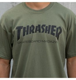 Thrasher Thrasher Skate Mag T, ARMY, XL