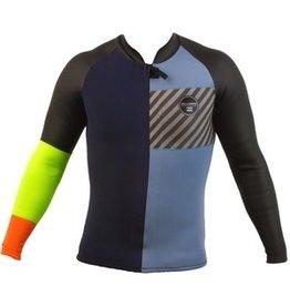 Billabong Billabong Revolution 2X2 LS Neon Wetsuit Topper Mens
