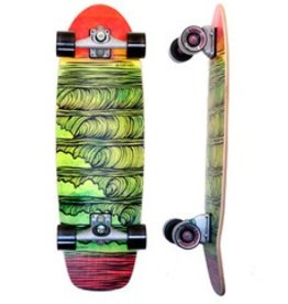 "Skate Carver Skateboards 31.25"" Stacked C7 Complete"