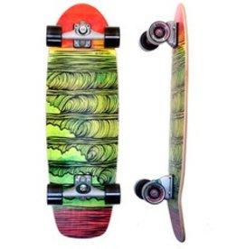 "Skate Carver Skateboards 31.25"" Stacked C7 Complete"