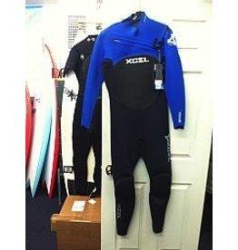 XCEL Xcel Drylock 3/2mm Blue Full Wetsuit Size LS