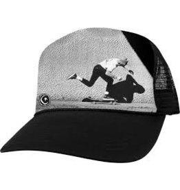 Skate Foundation JGB Pusher Mesh Hat Black