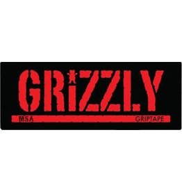 Grizzly MSA Stamp Logo Decal