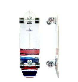 "Skate Carver 32.5"" USA Resin C7 Complete"