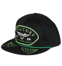 Skate Creature Matey Twill Adjustable Hat Black