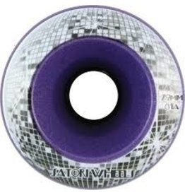 Skate Satori Disco Ball Cruiser 72mm Wheels Purple