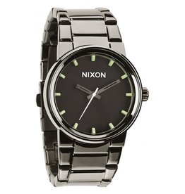 Nixon Nixon Cannon Polished Gunmetal Lum Watch