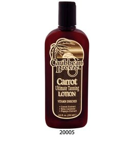 Carribean Breeze Tanning Lotion<br />Carrot