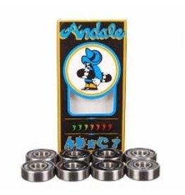 Skate Andale Abec-7 Black Bearing Set
