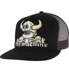 Skate Toy Machine Dead Monster Adj Trucker Hat Black/Black