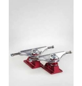 Skate Independent 149 Stage 11 Forged Hollow Polished Red Truck Set