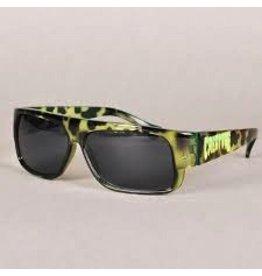 Skate Creature Lokoz Sunglasses Green Tortoise OS Unisex