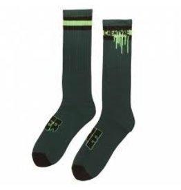 Skate Creature Splat Socks Forest 9-11