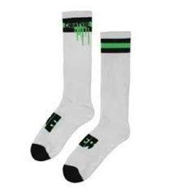 Skate Creature Splat Socks White 9-11