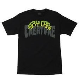 Skate Creature Hesh Crew T-Shirt Black Medium