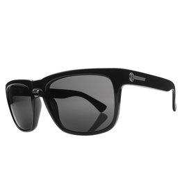 Electric Visual Electric Gloss Black Frame Melanin Grey Lens Sunglasses