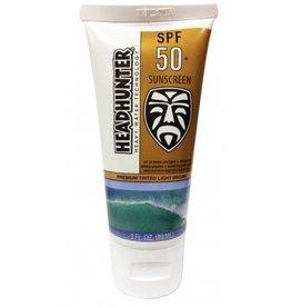 Head Hunter Headhunter New SPF 50+ Premium Tinted Light Brown Cream Sunscreen