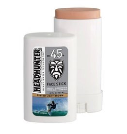 Head Hunter Headhunter SPF 45 Facestick Tinted Light Brown Sunscreen