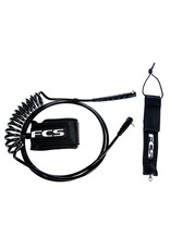 FCS FCS 9FT SUP Regular Leash Ankle Black
