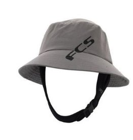 FCS FCS Wet Bucket Hat Grey Large Surfing Hat