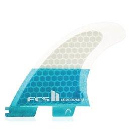 FCS FCS II Performer PC Tri Set Thrusters Surfboard Fins Small
