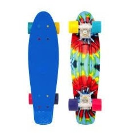 "Skate Penny 27"" Nickel Complete Tie Dye Skateboard"