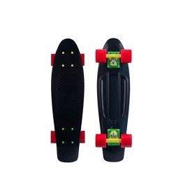 """Skate Penny Nickel 27""""Rasta Complete Skateboard"""