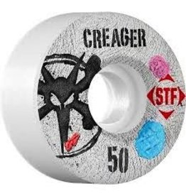 Bones Bones Wheels STF Pro Creager Bubblegum 50MM Wheels 4Pk
