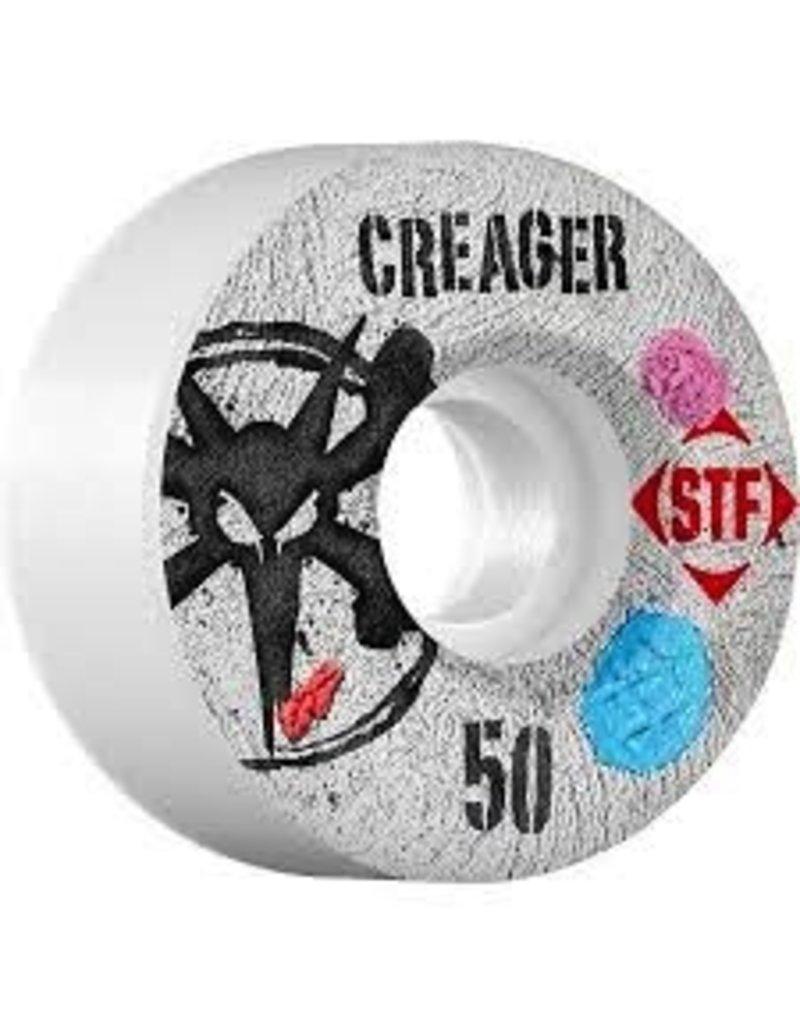 Bones Bones Wheels STF Pro Creager Bubblegum 50MM Wheels 4Pk