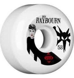 Skate Bones 53mm Raybourn Audry 2 STF Wheel Set V5
