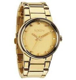 Nixon Nixon The Cannon All Gold Polished Watch