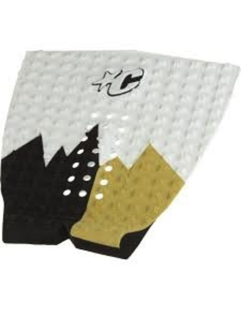 Creatures of Leaisure Creatures of Leisure Mick Fanning White Tan Surfboard Traction Pad
