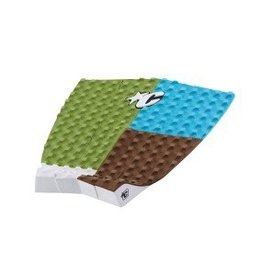 Creatures of Leaisure Creatures Of Leisure Dusty Payne Olive Chocolate Surfboard Traction Pad