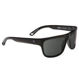 Spy Optic Spy Angler Frame Black Lens Happy Grey Green Sunglasses